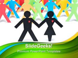 Let Get Together Global PowerPoint Templates And PowerPoint Backgrounds 0511