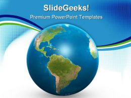Little Globe Abstract PowerPoint Templates And PowerPoint Backgrounds 0311