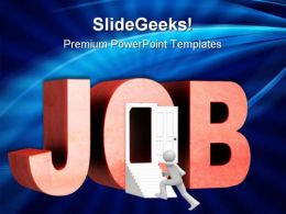Looking For Job Future PowerPoint Templates And PowerPoint Backgrounds 0311