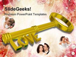 Love Solution Wedding PowerPoint Templates And PowerPoint Backgrounds 0711