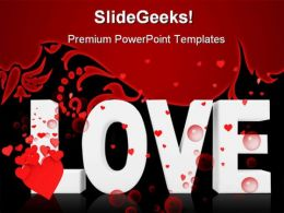 Love Symbol PowerPoint Templates And PowerPoint Backgrounds 0511