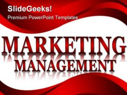 Maketing Management Business PowerPoint Backgrounds And Templates 0111