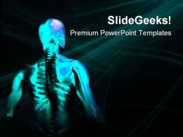 Man Bone Medical PowerPoint Templates And PowerPoint Backgrounds 0711