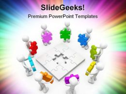 Many Options Business PowerPoint Templates And PowerPoint Backgrounds 0511