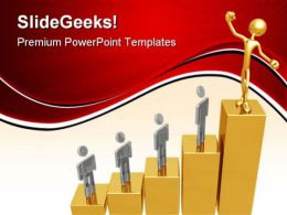 Market Leader Business PowerPoint Templates And PowerPoint Backgrounds 0611