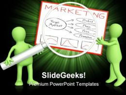 Marketing Business PowerPoint Background And Template 1210