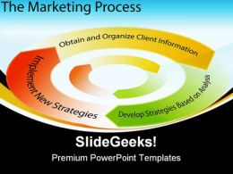 Marketing Process Chart Business PowerPoint Templates And PowerPoint Backgrounds 0311