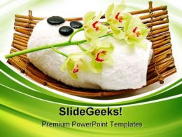 Massage Stone Beauty PowerPoint Templates And PowerPoint Backgrounds 0311