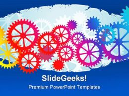 Mechanical Background Industrial PowerPoint Templates And PowerPoint Backgrounds 0311