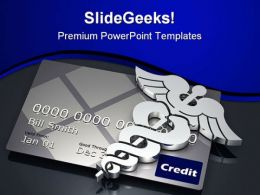 Medical Debt Business PowerPoint Templates And PowerPoint Backgrounds 0611