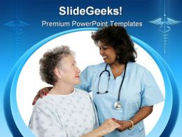 Medical Help Health PowerPoint Template 0610