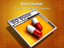 Medical Information On Web Internet PowerPoint Templates And PowerPoint Backgrounds 0211