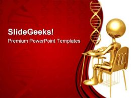 Medical Student Science PowerPoint Templates And PowerPoint Backgrounds 0711
