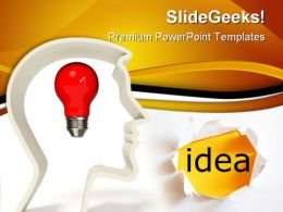 Men With Idea People PowerPoint Templates And PowerPoint Backgrounds 0211