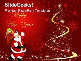 Merry Christmas02 Holidays PowerPoint Template 1010