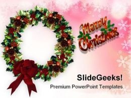 Merry Christmas03 Festival PowerPoint Templates And PowerPoint Backgrounds 0611