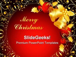 Merry Christmas04 Festival PowerPoint Templates And PowerPoint Backgrounds 0611