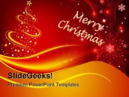 Merry Christmas Abstract PowerPoint Templates And PowerPoint Backgrounds 0711