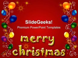 Merry Christmas Background PowerPoint Templates And PowerPoint Backgrounds 0511