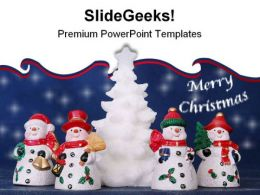Merry Christmas Festival PowerPoint Templates And PowerPoint Backgrounds 0511