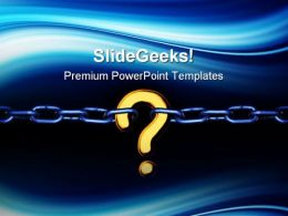 Missing Link Business PowerPoint Templates And PowerPoint Backgrounds 0711