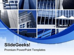 Modern Architecture Business PowerPoint Templates And PowerPoint Backgrounds 0311