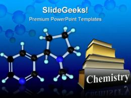 Molecule Nicotine Science PowerPoint Templates And PowerPoint Backgrounds 0311
