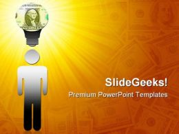 Money Making Idea Business PowerPoint Templates And PowerPoint Backgrounds 0211
