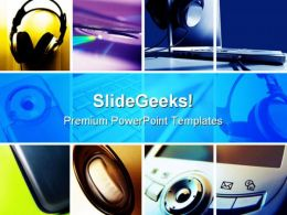 Montage Technology PowerPoint Templates And PowerPoint Backgrounds 0811