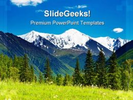 Mountain Landscape Nature PowerPoint Templates And PowerPoint Backgrounds 0411