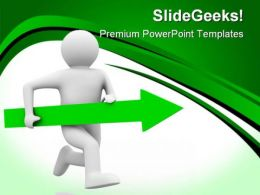 Movement Direction To Success Business PowerPoint Templates And PowerPoint Backgrounds 0811