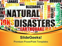 Natural Disasters Geographical PowerPoint Templates And PowerPoint Backgrounds 0311