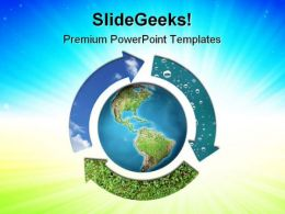 Natural Elements Earth PowerPoint Templates And PowerPoint Backgrounds 0811