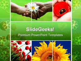 Nature Collage Beauty PowerPoint Templates And PowerPoint Backgrounds 0811