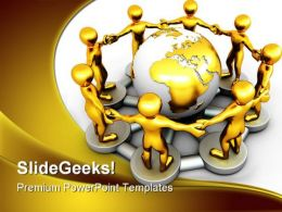 Network People PowerPoint Backgrounds And Templates 0111