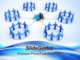 Networking01 Business PowerPoint Templates And PowerPoint Backgrounds 0511