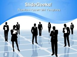 Networking01 Business PowerPoint Templates And PowerPoint Backgrounds 0611