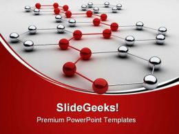 Networking Business PowerPoint Templates And PowerPoint Backgrounds 0311