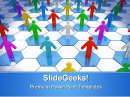 Networking Concept Business PowerPoint Templates And PowerPoint Backgrounds 0511