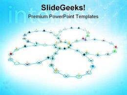 Networking Concept Internet PowerPoint Templates And PowerPoint Backgrounds 0711