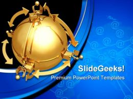 Networking Internet PowerPoint Templates And PowerPoint Backgrounds 0611