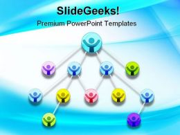 Networking Teamwork Internet PowerPoint Templates And PowerPoint Backgrounds 0311