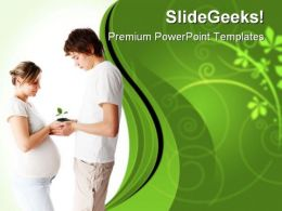 New Born Concept Family PowerPoint Templates And PowerPoint Backgrounds 0611