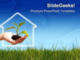New Life Business Concept Nature PowerPoint Templates And PowerPoint Backgrounds 0711