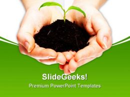 New Life Concept Business PowerPoint Templates And PowerPoint Backgrounds 0411