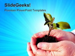 New Life Nature PowerPoint Templates And PowerPoint Backgrounds 0711