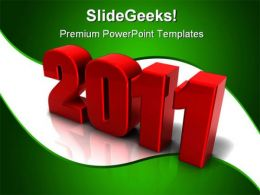 New Year01 Holidays PowerPoint Template 1010