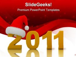 New Year02 Celebration PowerPoint Template 1010