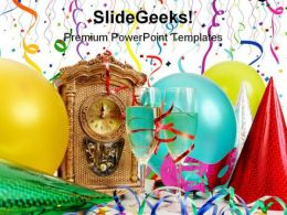 New Year Festival PowerPoint Templates And PowerPoint Backgrounds 0411