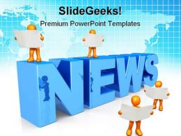 News Global PowerPoint Templates And PowerPoint Backgrounds 0711